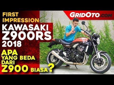 Kawasaki Z900rs 2018 First Impression Gridoto Youtube