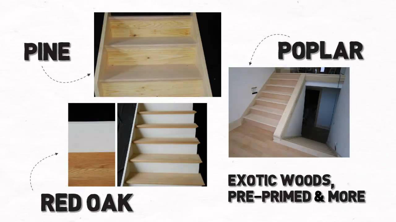 Charmant Long Island Stair Builder And Prefab Basement Wood Stair Kits   YouTube