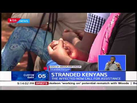 Kenyans stranded in foreign airports; International fights were suspended