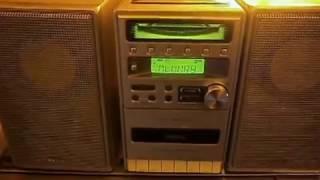 phillips mc 120 micro cd stereo system demo