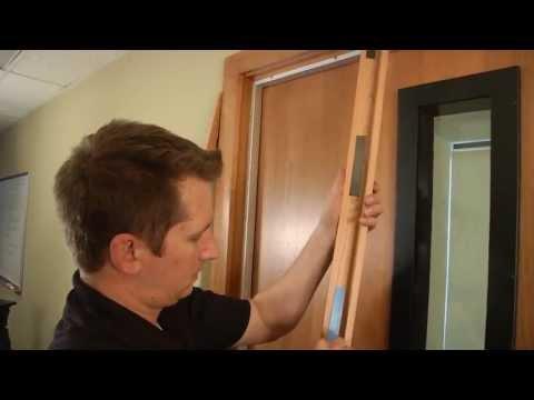 Acoustic Geometry Studio 3D Sound-Proof Door -- How to Install Demo | Full Compass