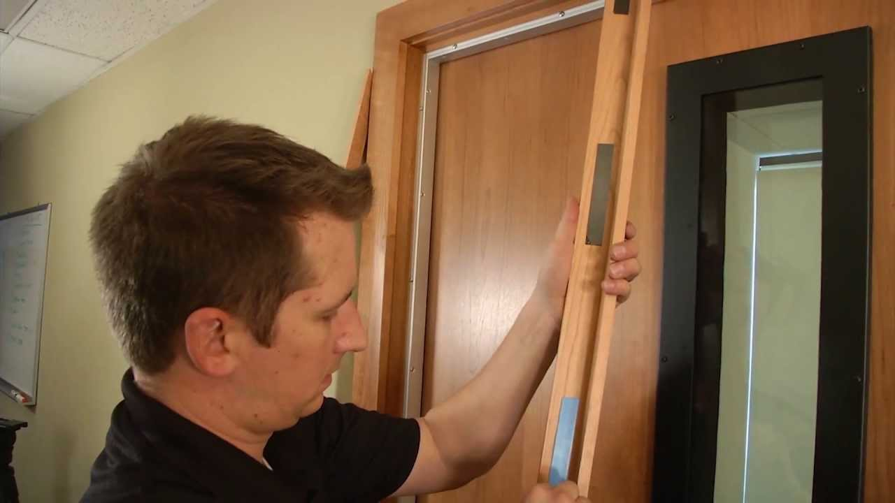 Acoustic Geometry Studio 3D Sound Proof Door    How To Install Demo | Full  Compass   YouTube