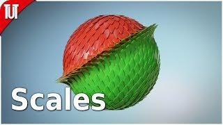 Blender Tutorial - Scales Transform [Animation Nodes]