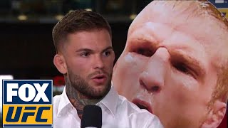 Cody Garbrandt gives us details of his back rehab and his fight with T.J. Dillashaw | TUF TALK