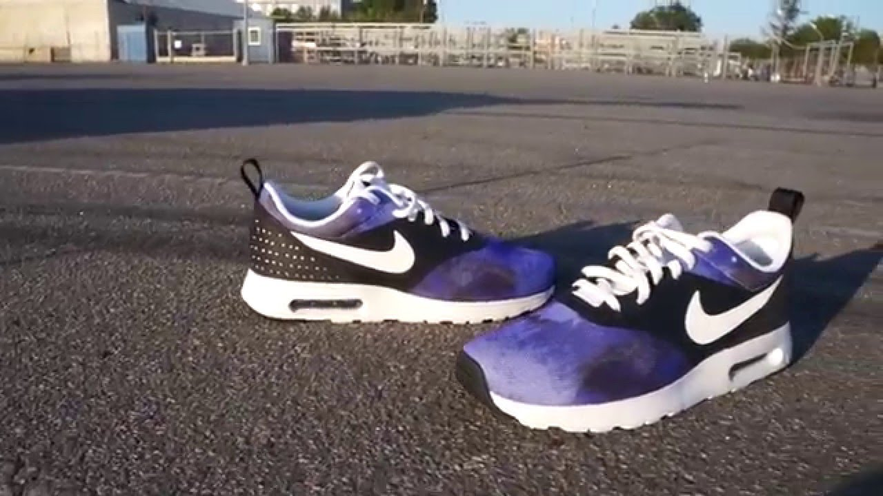 a77892aa19f1 Nike Air Max Tavas SD Black Persian Violet Ink White - YouTube