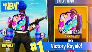 "How To Unlock *SECRET* ""Bright Bag"" For FREE In Fortnite: Battle Royale!"