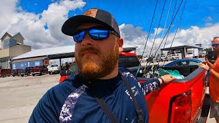 Fishing the Pass Christian harbor!
