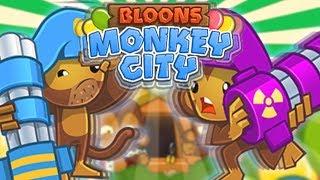 POLUBIŁEM DARTLING GUN  | #013 | Bloons Monkey City | PL