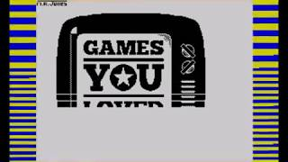 Games You Loved on the ZX Spectrum