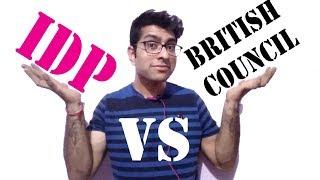 vuclip IELTS | difference between idp IELTS and IELTS British | British council vs idp