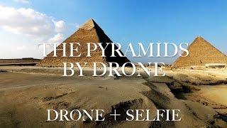 travel the world the pyramids giza egypt by drone phantom 世界一周
