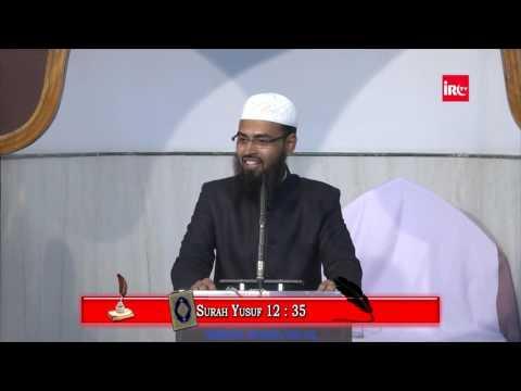 Yusuf AS Ek Behtareen Misal Hai Aaj Ke Daur Ke Naujawano Keliye By Adv. Faiz Syed