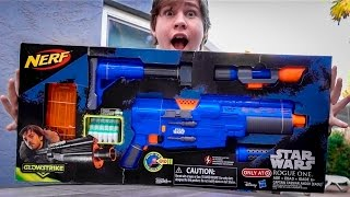 Nerf Star Wars Rogue One Captain Cassian Andor Deluxe Blaster!