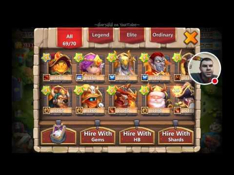 Castle Clash: Arctica Test Run And RaiderJxx Account Overview!