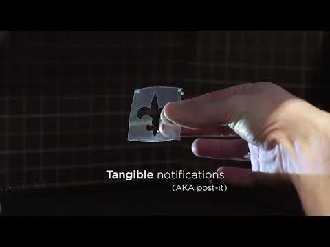 LeviProps: Animating Levitated Optimized Fabric Structures using Holographic Acoustic Tweezers