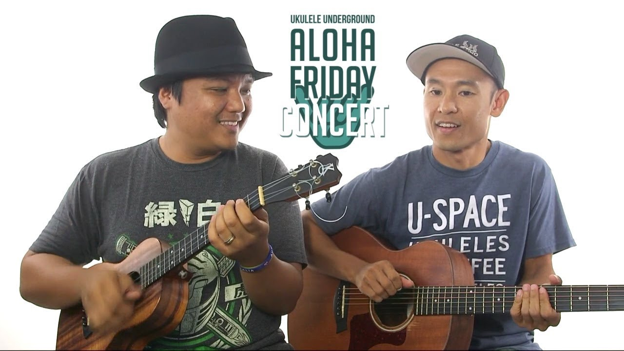 September 1 2017 aloha friday concert replay youtube september 1 2017 aloha friday concert replay ukulele underground hexwebz Images
