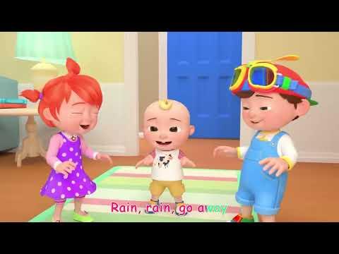 Rain Rain Go Away (Indoors Version) | CoComelon Nursery Rhymes & Kids Songs