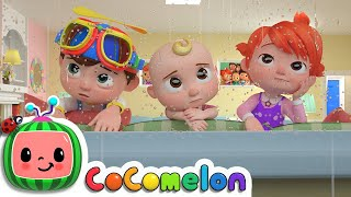 Rain Rain Go Away (Indoors Version) | CoComelon Nursery Rhymes & Kids Songs