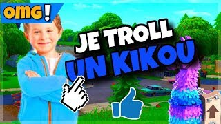 I TROLL A SCAMOR OF 10 YEARS FORTNITE SAUVER THE WORLD !!!