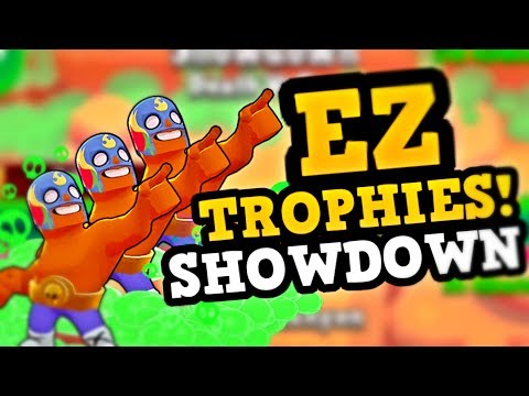 Best Way to GET TROPHIES FAST in Brawl Stars :: #1 Survival Player Strategy)