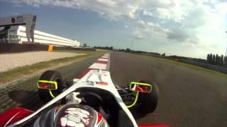 Adria Formula 3 Onboard Michael Lewis 2011