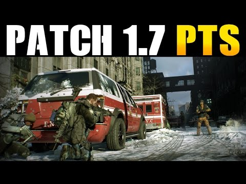 THE DIVISION - OFFICIAL 1.6.1 RELEASE DATE, PATCH 1.7 PTS & MORE! (STATE OF THE GAME HIGHLIGHTS)