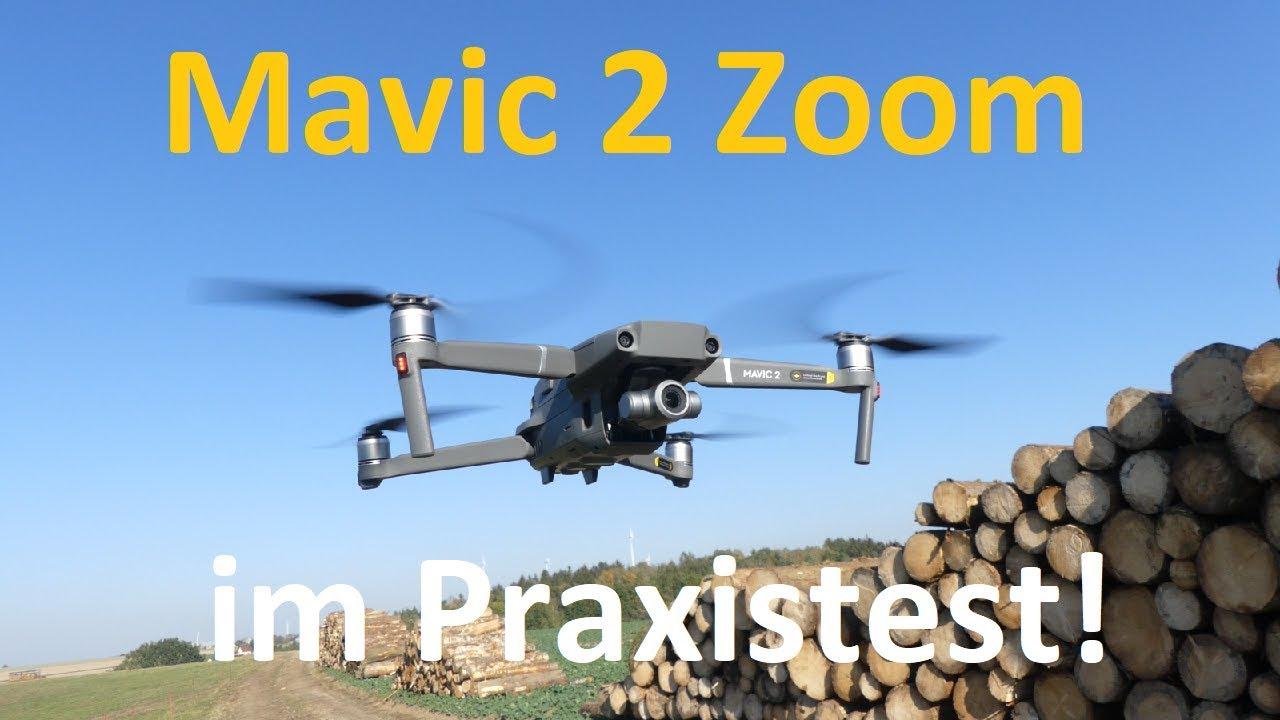 Mavic 2 Zoom Test: Reichweite, Flugzeit, Foto, Video, Funktionen