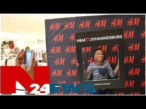 """Protestors are trashing h&m stores in south africa over """"racist"""" ad"""