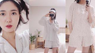 잠옷 몽땅 소개 / 집순이 만렙 12가지 잠옷들  Lo…