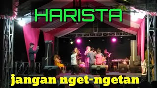 Gambar cover Harista - jangan ngetngetan voc. Evin [malam puncak HUT RI KE 74 ] GEMPAR live streaming kuningan