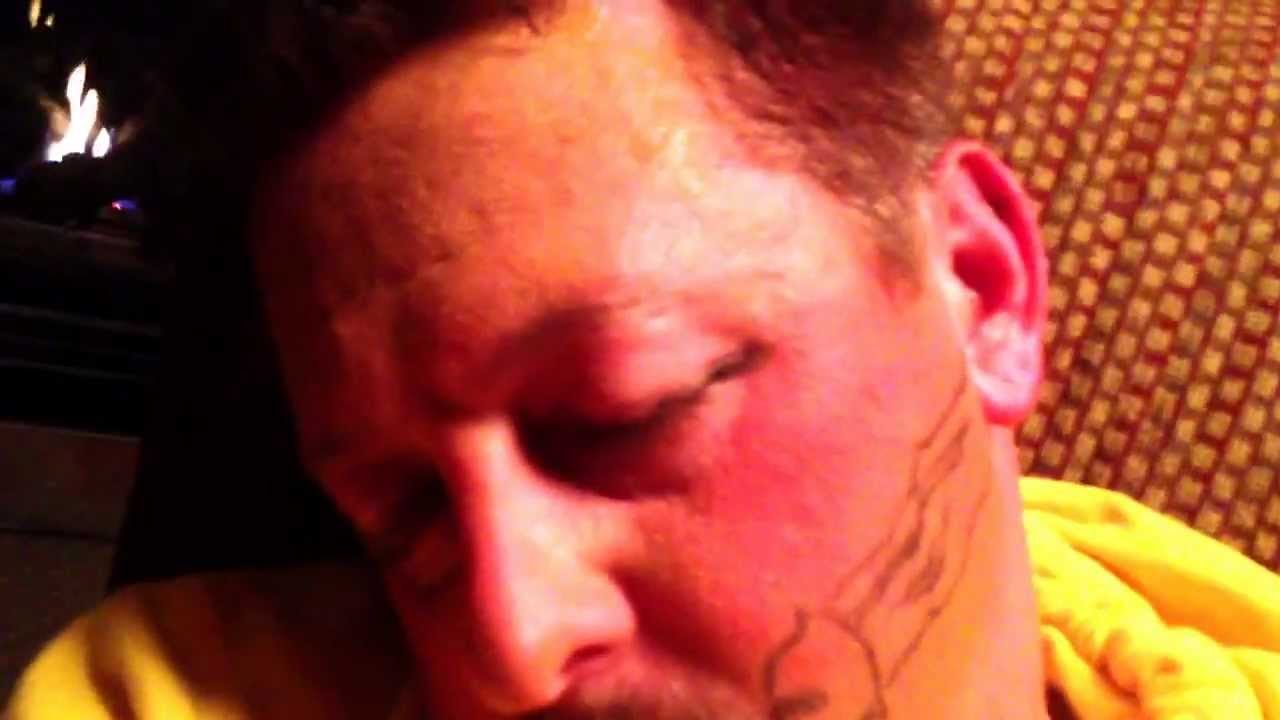 Drunk Guy Gets Face Fucked Up By Ex Wife