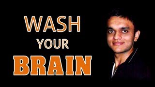 Wash Your Brain | Inspirational Video in Hindi | Vasant Chauhan