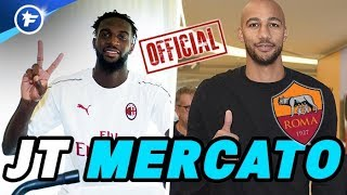 OFFICIEL : Bakayoko à Milan, Nzonzi à la Roma | Journal du Mercato