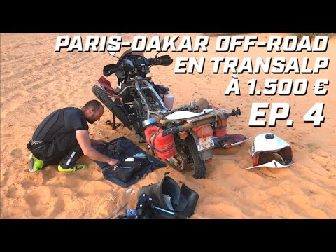 PARIS DAKAR OFF-ROAD EN TRANSALP ► EP 4 ► LE POINT DE NON RETOUR