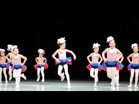 Grand Old Flag - Caeli's Dance Rehearsal