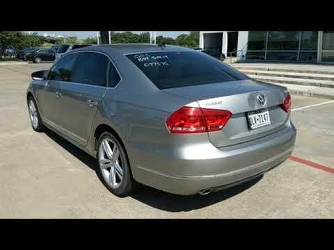 Used 2014 Volkswagen Passat Dallas TX Garland, TX #P8231V - SOLD