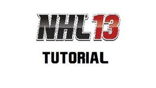 NHL 13 - Tutorial