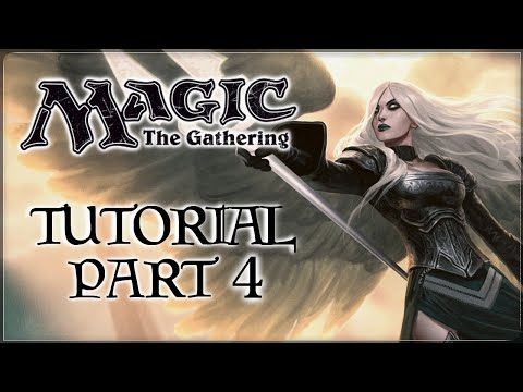 Magic the Gathering Tutorial - Part 4 - Instants, Counter Spells, & the Stack (Lukeboe)