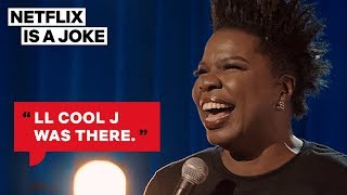 Leslie Jones Got Into A Grammys Party | Netflix Is A Joke