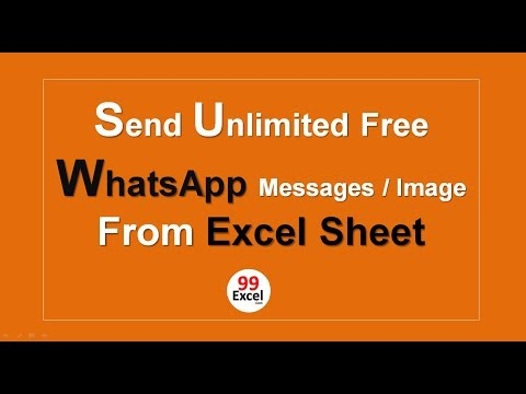 How to send bulk whatsapp message from pc free