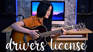 (Olivia Rodrigo) drivers license - Fingerstyle Guitar Cover | Josephine Alexandra