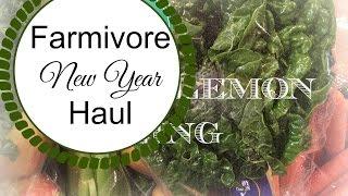 Farmivore Juice Box New Year Haul