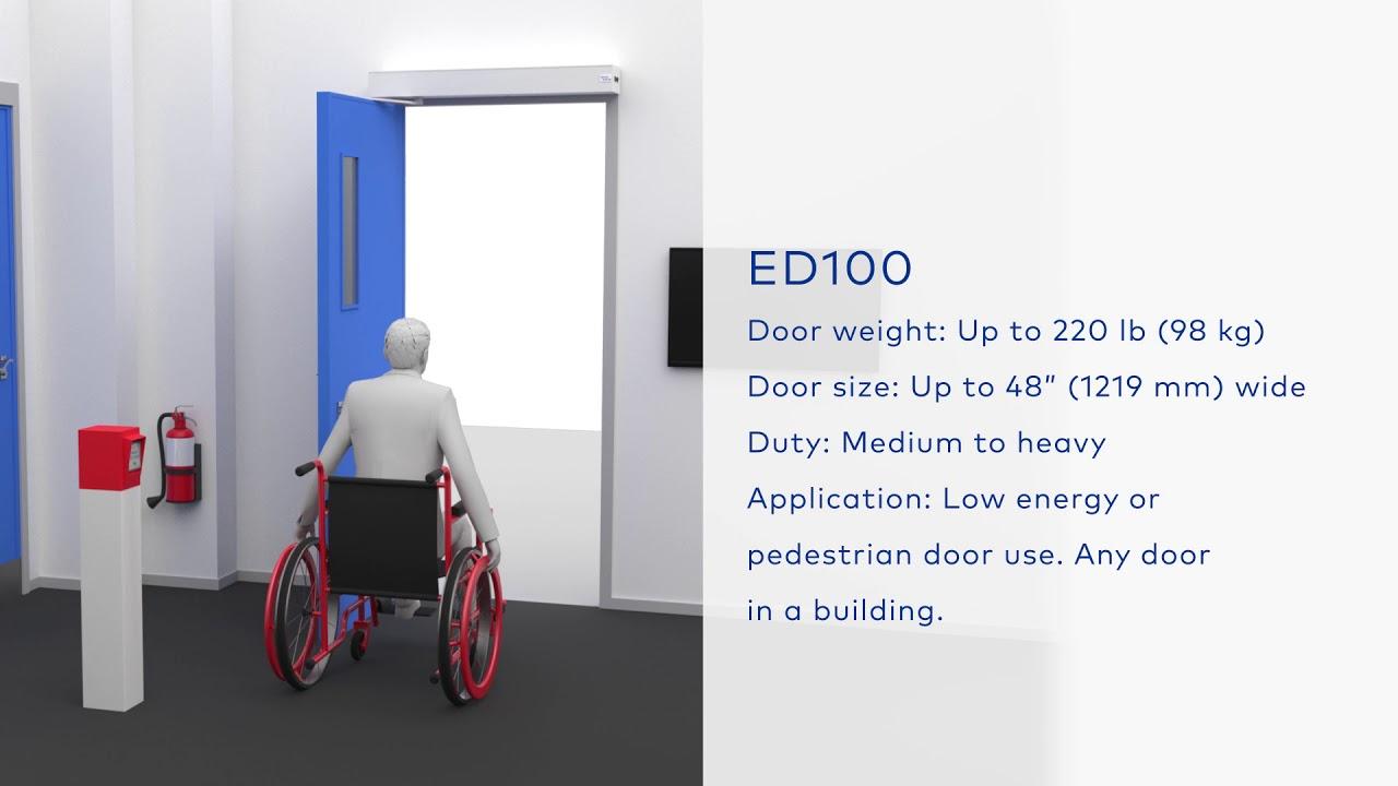 dormakaba - ED-IG In-Ground Swing Door Operator