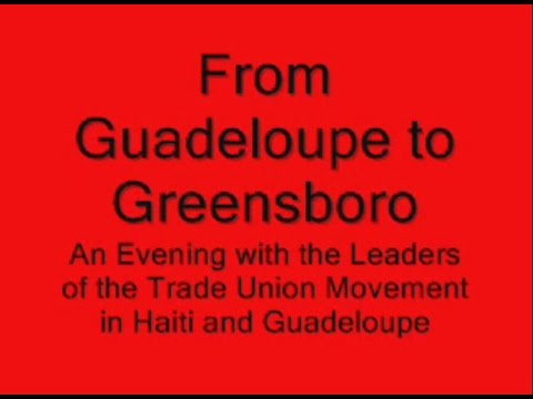 From Guadeloupe to Greensboro