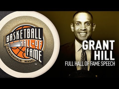 Grant Hill's Hall of Fame Enshrinement Speech