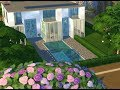 THE SIMS 4    SPEED BUILDING    RICH GIRLS HOUSE AND ROOM TOUR