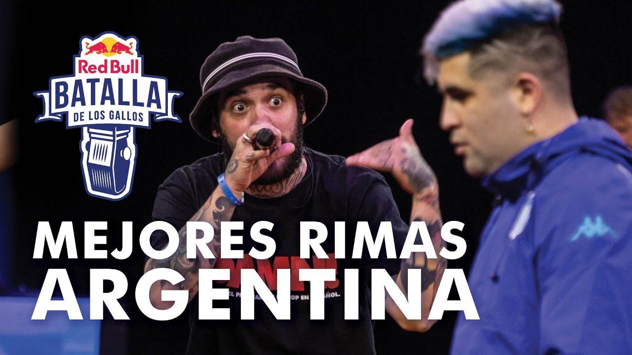 MEJORES RIMAS de Red Bull Argentina 2020