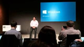 Microsoft unveils Windows 10 operating system