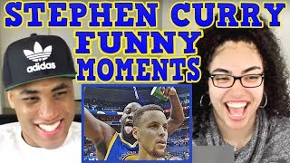 Stephen Curry FUNNY MOMENTS REACTION | MY DAD REACTS