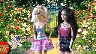 Барби Кукольная Жизнь в доме мечты, Мультик для девочек Барби и Ракель Поцелуй бабочки новая история